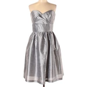 Alfred Sung Strapless dress Cocktail Bridesmaid